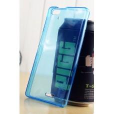เคส AIS Super Combo Pro 5.0 (LAVA STAR) เคสยางนิ่ม TPU แบบใส พร้อมจุด Pixel ป้องกันเคสติดกับตัวเครื่อง - สีฟ้า