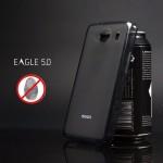 เคส DTAC Eagle 5.0 เคสนิ่ม Silicone ผิวด้าน ป้องกันรอยนิ้วมือบนตัวเคส สีดำ