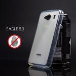 เคส DTAC Eagle 5.0 เคสนิ่ม Silicone ผิวด้าน ป้องกันรอยนิ้วมือบนตัวเคส สีขาว