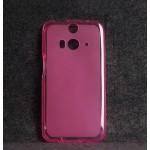 เคสยาง TPU HTC Butterfly S สีชมพู