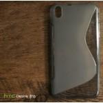เคส HTC Desire 816G (816) เคสยางนิ่ม TPU Two-Tone สีดำใส