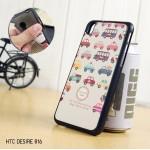 เคสนิ่ม พื้นผิวป้องกันการลื่น (Premium TPU) HTC Desire 816 แบบ 3