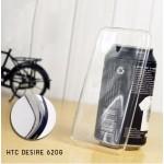 เคส HTC Desire 620G | เคสนิ่ม Super Slim TPU บางพิเศษ พร้อมจุด Pixel ขนาดเล็กด้านในเคสป้องกันเคสติดกับตัวเครื่อง ใส