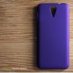 เคส HTC Desire 620G l เคสแข็งสีเรียบ ม่วง
