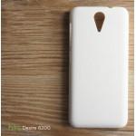 เคส HTC Desire 620G l เคสแข็งสีเรียบ ขาว