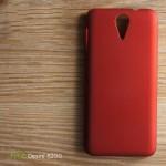 เคส HTC Desire 620G l เคสแข็งสีเรียบ แดง