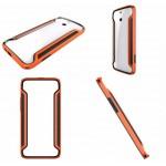 เคส HTC ONE E8 Bumper สีส้ม