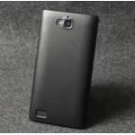 เคส Huawei Honor 3C เคสแข็งเมทัลลิก สีดำ (Metallic)
