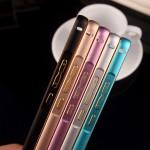 เคส Huawei P8 ขอบกันกระแทก Bumper (สีดำ / ขลิบทอง)