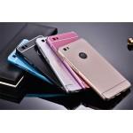 เคส Huawei P8 Lite ขอบกันกระแทก Bumper พร้อมฝาหลัง อะคริลิค สีทอง