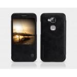 เคส Huawei Ascend G7 Plus เคสฝาพับ Nillkin Premium Series ของแท้ สีดำ