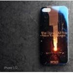 เคส iPhone 5 / 5S เคส TPU พื้นผิวเงาสะท้อน แบบที่ 4