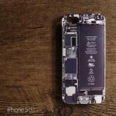 เคส iPhone 5 / 5S เคส TPU พิมพ์ลาย แผง Circuit