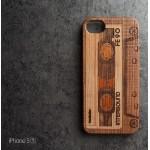 เคส iPhone 5 / 5S เคสแข็งลายไม้แกะสลัก แบบที่ 2