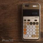 เคส iPhone 5 / 5S เคสนิ่ม TPU พิมพ์ลายเครื่องคิดเลข