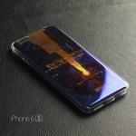 เคส iPhone 6 / 6S (4.7 นิ้ว) เคส TPU พื้นผิวเงาสะท้อน แบบที่ 2