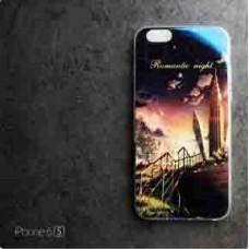 เคส iPhone 6 / 6S (4.7 นิ้ว) เคส TPU พื้นผิวเงาสะท้อน แบบที่ 4