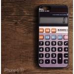 เคส iPhone 6 , 6s (4.7 นิ้ว) เคส (Old School Series) ลายเครื่องคิดเลข (Bumper ขอบยาง TPU)