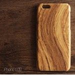 เคส iPhone 6 (4.7 นิ้ว) เคสแข็งพรีเมียม ลายไม้ แบบ 1