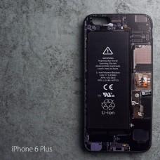 เคส iPhone 6 Plus (5.5 นิ้ว) เคส (Old School Series) ลาย Circuit (Bumper ขอบยาง TPU)