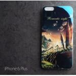เคส iPhone 6 Plus (5.5 นิ้ว) เคส TPU พื้นผิวเงาสะท้อน แบบที่ 3
