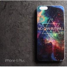 เคส iPhone 6 Plus (5.5 นิ้ว) เคส TPU พื้นผิวเงาสะท้อน แบบที่ 1