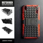 เคส Lenovo A7000 / A7000+ / K3NOTE เคสบั๊มเปอร์ กันกระแทก Defender สีแดง