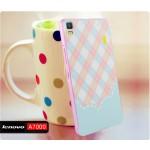เคส Lenovo A7000 / A7000+ / K3NOTE Bumper + Cover พิมพ์นูน สามมิติ (แบบสไลด์) ลายที่ 4