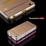 Lenovo A7000 Bumper + Cover สีเงิน