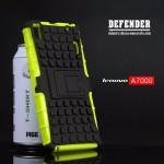 เคส Lenovo A7000 / A7000+ / K3NOTE เคสบั๊มเปอร์ กันกระแทก Defender สีเขียว