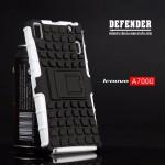 เคส Lenovo A7000 / A7000+ / K3NOTE เคสบั๊มเปอร์ กันกระแทก Defender สีขาว