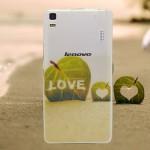เคส Lenovo A7000 / A7000+ / K3NOTE เคสนิ่ม SILICONE ใสพิมพ์ลายแบบที่ 6