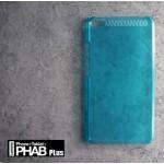 เคส Lenovo PHAB Plus เคสแข็ง สีเรียบกึ่งโปร่งใส สีฟ้า