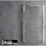 เคส Lenovo PHAB Plus เคสแข็ง สีเรียบกึ่งโปร่งใส สีขาวใส