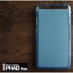 เคส Lenovo PHAB Plus เคสนิ่ม TPU สีเรียบ สีฟ้า