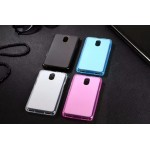 เคส Lenovo Vibe P1m (TRUE Lenovo 4G Vibe P1m) เคสนิ่ม TPU (ลดรอยนิ้วมือบนตัวเคส) สีเรียบ สีฟ้า