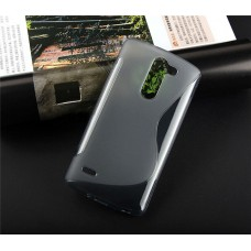 เคส LG G3 Stylus l เคสนิ่ม TPU ทูโทน สีดำใส