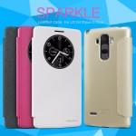 เคส LG G4 Stylus เคสฝาพับ Nillkin Sparkle Flip Cover สีทอง