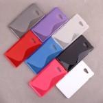 เคส Nokia Lumia 730 l เคสนิ่ม TPU ทูโทน ขาวใส