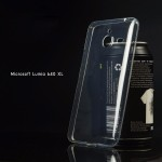 เคส Nokia Lumia 640 XL (Microsoft) เคสนิ่ม Super Slim TPU บางพิเศษ พร้อมจุด Pixel ขนาดเล็กด้านในเคสป้องกันเคสติดกับตัวเครื่อง สีใส