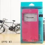 เคส Oppo N3 l เคสฝาพับ Sparkle จาก Nillkin (เปิด / ปิด อัตโนมัติ รับสายได้โดยไม่ต้องเปิดฝา) ชมพู