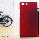 เคส Oppo R5 l เคสแข็งสีเรียบ แดง