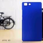 เคส Oppo R5 l เคสแข็งสีเรียบ น้ำเงิน