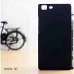 เคส Oppo R5 l เคสแข็งสีเรียบ สีดำ