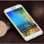 เคส Samsung Galaxy E5 ขอบกันกระแทก Bumper (สีทอง / ขลิบทอง)