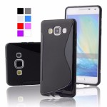 เคส Samsung Galaxy A5 เคสนิ่ม Silicone แบบ 2Tone สีดำทึบ