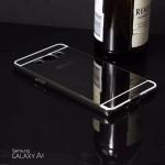 เคส Samsung Galaxy A5 l เคสฝาหลัง + Bumper (แบบเงา) ขอบกันกระแทก สีสเปซเกรย์