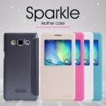 เคส Samsung Galaxy A5 l เคสฝาพับจาก Nillkin สีชมพู