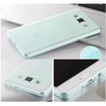 เคส Samsung Galaxy A7 l เคสนิ่ม TPU สีเรียบ (ฟ้า)