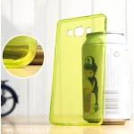 เคส Samsung Galaxy A7 เคสยางนิ่ม TPU แบบใส พร้อมจุด Pixel ขนาดเล็กด้านในเคสป้องกันเคสติดกับตัวเครื่อง เขียว